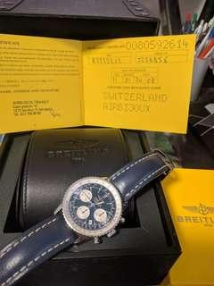 🚚 Breitling Navitimer A23322 (Rare Blue Dial, 41mm, Indices)