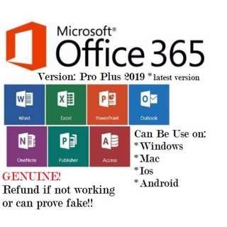 Genuine Office 365 pro plus #apr10