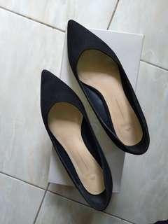 SALE !!!! Sepatu staccato 15mins black ORI 1000%