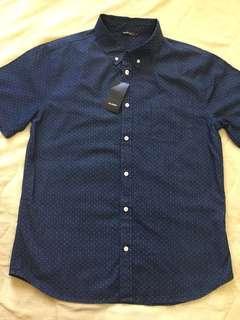 Dark Soft Denim Blue Shirt
