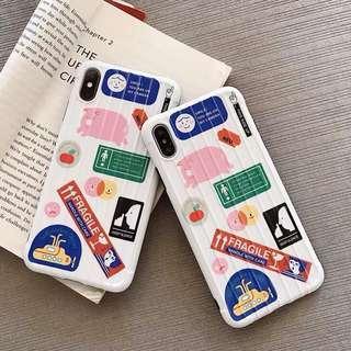 🚚 [PO] Luggage Sticker Graffiti Iphone Cover