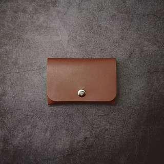 皮革材料包】長方風琴卡片套 BSP111