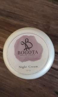 Bogota Skincare Night cream