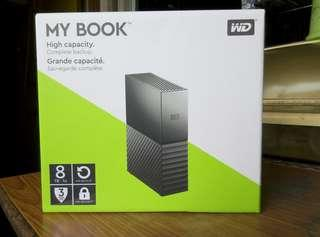 WD 8TB 外置硬碟