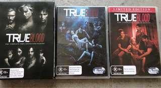 True Blood Seasons 1-4 DVDs