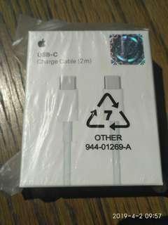 Apple MacBook USB-C Thunderbolt cable