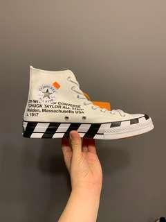 🚚 Off White x Converse Chuck Taylor