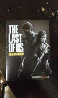 The last of Us remastered + DLC code PROMO