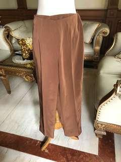 Celana kerja coklat