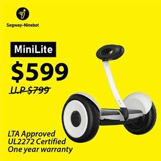 🎯 Segway MiniLite Self-Balancing Hoverboard 🎯 Official Distributor & Service Centre | Only at $599