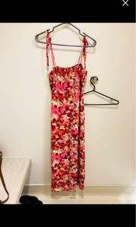Uniqlo Floral maxi dress
