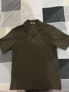 Uniqlo U Open Collar Polo Shirt