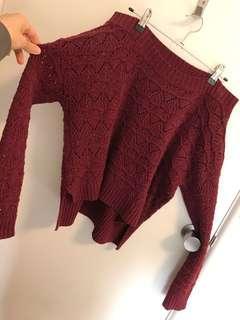 Wool knit jumper