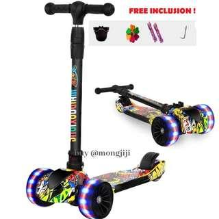 Kids Scooter 5cm thick wheels children scooter cool design