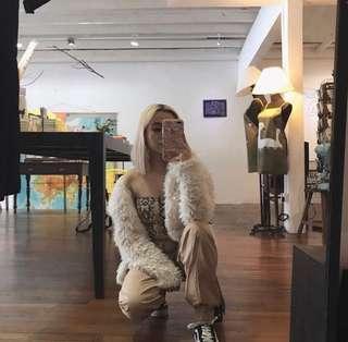 Faux fur jacket/winter jacket
