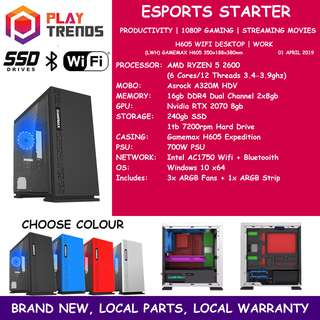 BUDGET ESPORTS PC (Fast deal $350 within 24 hours! )(price