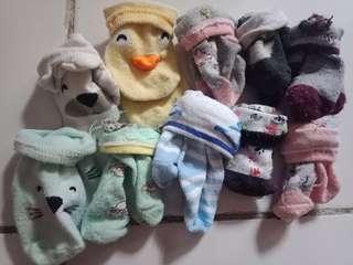 Kaos Kaki Baby dan sarung tangan dan kaki baby