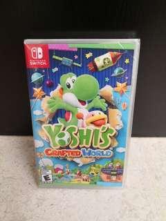 Switch Yoshi Crafted World
