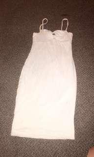 White kookai womens dress