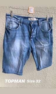 TOPMAN Jeans Short