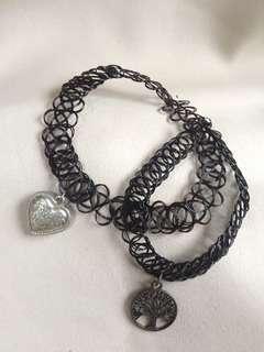 Lovisa Choker Necklace Pendant Vintage #APR10