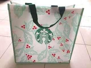 Starbucks Christmas Korea Recycle Bag #APR10