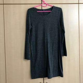 UNIQLO Long sleeve mini dress