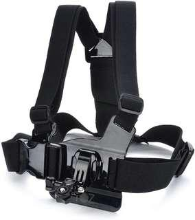 Adjustable Chest Body Harness Belt Strap Mount For  action camera