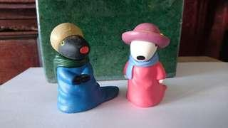 Gaspard and Lisa figurines