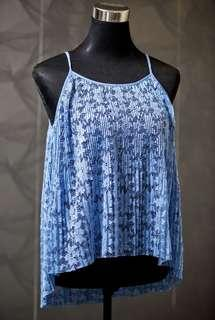 Zara Pleated Top
