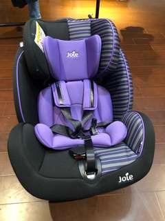 Joie成長型0-7歲汽車安全座椅/汽座(極新 使用十個月)