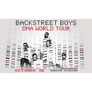 BACKSTREET BOYS DNA World Tour Singapore Concert Tickets