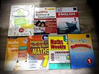 PRI 1 ENG & MATH ASSESSMENT BOOKS
