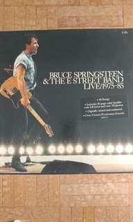 5 LP Bruce Springsteen Live 1975-1985 box set
