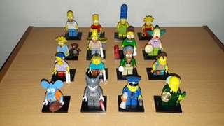 Lego Simpson - Minifigure Series 1