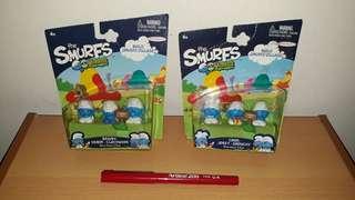 The Smurfs Micro Village (Set of 2)