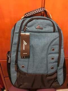 文青背包(藍色、大容量、防水)