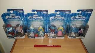 The Smurfs - Smurfs Figure 2 Pack (Set of 4)