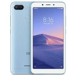 Kredit Xiaomi Redmi 6 Blue 4/64GB Resmi Tam, Promo Bunga 0%