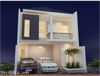 New cluster 9 unit indent Jamboo Hills  Jl. M. Kahfi1  Rumah Cluster di Jagakarsa-Ciganjur