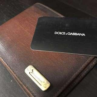 Dolce and Gabbana used wallet