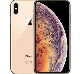 Kredit Iphone X S Max 256GB Gold, Promo Bunga 0% Cuyy