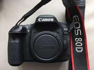 Canon 80D 機身
