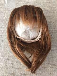 Blythe 棕啡色假髮 wig pullip