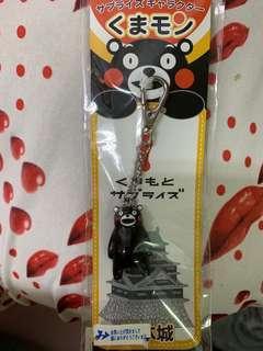 🚚 日本九州限定 熊本熊 吊飾