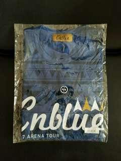 Cnblue 2017 Arena Tour Starting Over ~ Tee (S Size, Blue)