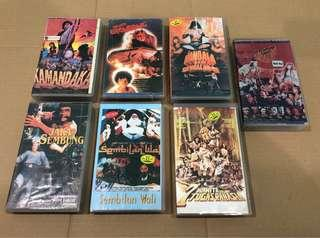 Lot Indonesian Title Film Movie VHS
