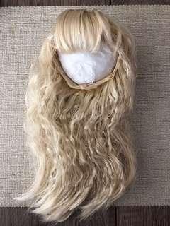 Blythe 金色長假髮 wig pullip