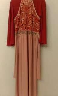 Dress gamis panjang