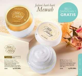 Milk Honey day/night cream for skin